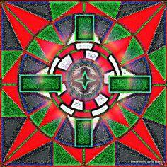 Recuperação e Arte: Mandalas Tarô no Flickr Photos.