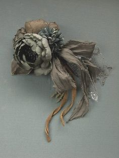 corsage  hand dyed by kikosattic on Etsy, $76.00