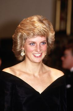 Princess Diana in her most stunning years - and I can really see Prince Harry here! It's the smile/grin - the nose - that devilishly delightful look of the face.