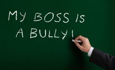 Sometimes writing it on the office chalkboard helps to alert the Boss to his problem so he can rectify it!  NOT!  Just makes him even MORE OF A JERK BULLY towards you because REALITY IS NOT A REALM A BULLY RECOGNIZES!