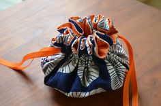 Drawstring jewelry bag I've made these in years past. Easy and fun!