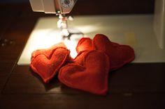 heart rice hand warmers