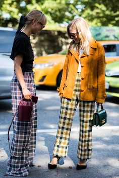 Street style à la Fashion Week printemps-été 2018 de New York