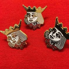 #Repost @goonslosangeles The kings head pin available at http://ift.tt/2fyzait (Posted by https://bbllowwnn.com/) Tap the photo for purchase info. Follow @bbllowwnn on Instagram for great pins patches and more!