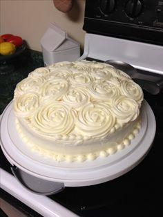 Cake icing technique