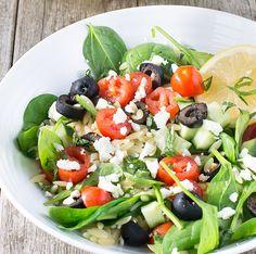Mediterranean Pasta Salad #recipe via Charlotte's Lively Kitchen http://www.yummly.co/#recipe/Mediterranean-Pasta-Salad-1946805