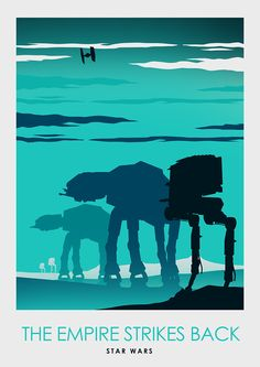 Star Wars Minimalist Poster Series - Created by Ciaran MonaghanPrints available for sale at his Etsy Shop.