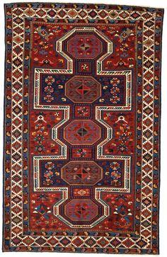Kazak Teppich Kaukasus 237 x 146 cm
