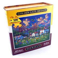 Dowdle Jigsaw Puzzle - Golden Gate Bridge - 500 Piece