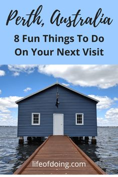 Visit Perth, Australia on your next vacation! Check out 8 recommended things to do and/or sightsee on your visit to Perth. Great Places, Places To Go, Australia Travel Guide, Australia Visa, Perth Western Australia, New Zealand Travel, Ways To Travel, Travel Tips, Day Trips