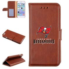 Tampa Bay Buccaneers Brown iPhone 6 Cell Phone Wallet