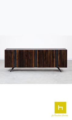 A Square Roots design the Vega Sideboard in seared oak is a bold statement piece. #furniturehunters #sideboard