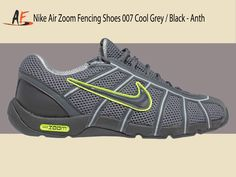 97e05da6309a Nike Air Zoom Fencing Shoe Cool Grey Blk-Anthrct-Wlf Gry (007) C