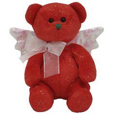 Christmas Beanies - TY Beanie Babies Hark the Red Angel Bear  5.95 Ty Babies a7203e724618