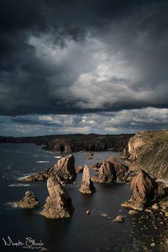 The Mangersta Stacks, Isle of Lewis, Scotland.