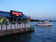 The Dinghy Dock Pub off Nanaimo Harbour Dinghy, Check It Out, Restaurant Bar, Marina Bay Sands, Places Ive Been, Restaurants, Spaces, Building, Fun