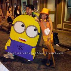 disfraz de minion para carnaval // 35 Disfraces Caseros de Minions que tú puedes hacer en  ►http://trucosyastucias.com/decorar-reciclando/disfraces-minion-caseros  #carnaval #minions #disfraces #diy #original #manualidades #costumes #despicableme#crafts #diy #kids #niños
