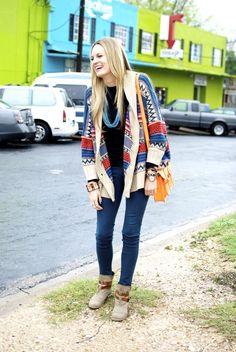 Streets of Sparkle: austin style :: keep it relaxed & BRIGHT