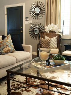 Spaces Cowhide Rug Design, Pictures, Remodel, Decor and Ideas - page 51