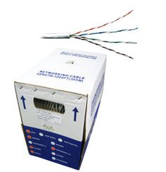 TVCables CAT6 305m Box Reel - CAT 6 UTP Network Cable CAT6 Network Cable 305m Box Reel high quality CAT6 UTP network cable full copper 305m / 1000ft easy pull box with grey beige jacket. Suitable for data av HDMI etc http://www.MightGet.com/february-2017-3/tvcables-cat6-305m-box-reel--cat-6-utp-network-cable.asp