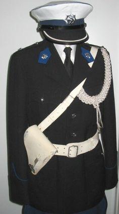 Dutch State Police   traffic inspector's dress uniform