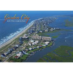 That 39 s really a view of garden city sc murrells inlet is the far left of photo favorite for Garden city beach south carolina