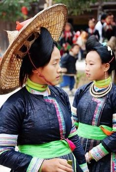 Miao women in Kaili Guizhou China