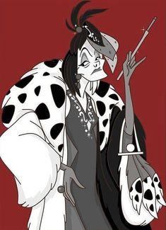 Fur Coat Fashion, Cruella Deville, Dalmatians, Disney Villains, Long Live, Worship, Womens Fashion, Anime, Short Stories