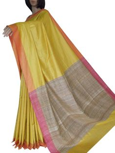 Pure handloom Tussar sarees Ethnic Fashion, Womens Fashion, Sarees, Weave, Pure Products, Summer Dresses, Skirts, Women's Fashion, Skirt