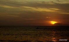 Sunset at Anyer Beach Indonesia