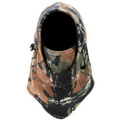 Outdoor Camouflage Winter Thermal Motorcycle Cycling Hunting Full Face Mask