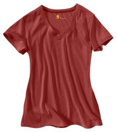 "Carhartt Calumet T-Shirt for Ladies - Wild Rose Heather - XL: """"""The Carhartt Calumet T-Shirt is your… #Fishing #Boating #Hunting #Camping"