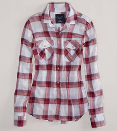 Shop the latest styles of Shirts and Blouses for Women. From button downs and denim shirts to flannels and plaid shirts, refresh your style with our collection of Women's Shirts and Blouses at American Eagle. Cute Outfits With Jeans, Plaid Outfits, Fashion Outfits, Country Girl Style, Country Chic, My Style, Country Life, Family Picture Outfits, Love Clothing