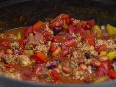 Jamie's award winning chili - I always add stuff to this but it's a great base recipe