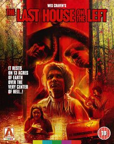 """brokehorrorfan: """"The Last House on the Left will be released on Blu-ray on May 29 via Arrow Video. The limited edition two-Blu-ray set will feature three cuts of the film restored in from original. Wes Craven Movies, The Hills Have Eyes, Blu Ray Collection, Horror Artwork, Nightmare On Elm Street, Video Film, Horror Movies, Slasher Movies, Horror Film"""