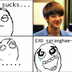 This is called the EXOVirus ;) #kpop #kpopmeme #exo #sehun