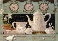 TEA TIME ... OR COFFEE ...