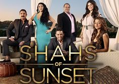 Shas of Sunset; Already deeply addicted. Somewhere between Real Housewives of Atlanta & Keeping up with the Kardashian's...