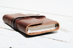 Leather Handmade Diary Pocket Journal Brown by NewSouthBooks, $55.00