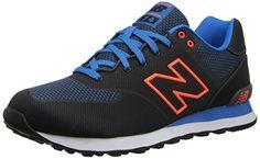 New Balance ML 574 ALA Black Orange 41.5 - http://on-line-kaufen.de/new-balance/41-5-eu-new-balance-574-unisex-erwachsene-sneakers-3