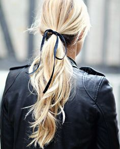"""Monday Bow  #hair #detail #bow"""