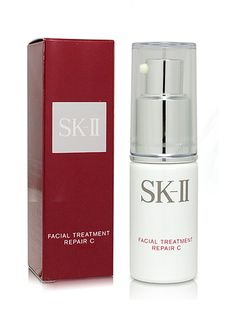 Facial Treatment Repair C 15ml by SK-II. Oil free beauty serum reduces the appearance of fine lines, while improving overall skin texture and keeps skin moisturized. This light yet powerful replenishing serum with rich moisturizers, hyaluronic acid, and Pitera. http://www.zocko.com/z/JJN6H