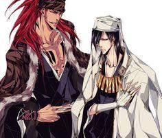 Bleach// Ichigo and  Byakuya