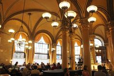4. Café Central, Vienna (1876) A popular historical landmark of Viennese cultural history, this cafe served as an incubator for prominent intellectuals including Freud, Lenin, and Trotsky.