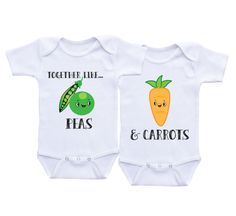 a7a6d49378bae Boy Girl Twins Baby gifts Matching boy girl outfits twin onesies twin baby… Twin  Baby