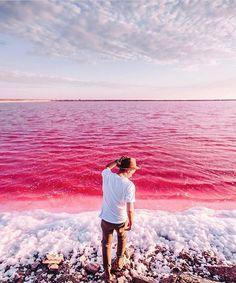Walvis Bay, Namibia (salt mine)