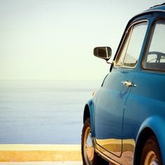 Blue as see, blue as sky, blue as #Fiat500.