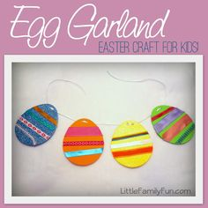 Easter craft for kids. Simple and fun!