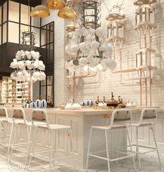 Artistiek concept: Artte #Barcelona #restaurant http://artte.es