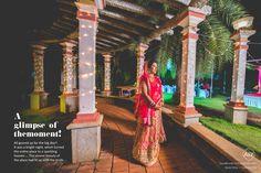 Taniya & Dinesh  The stretch portrait's an artistic bride... #weddingbox #colorbox #ceremony #wedding #gorgeous #blissful